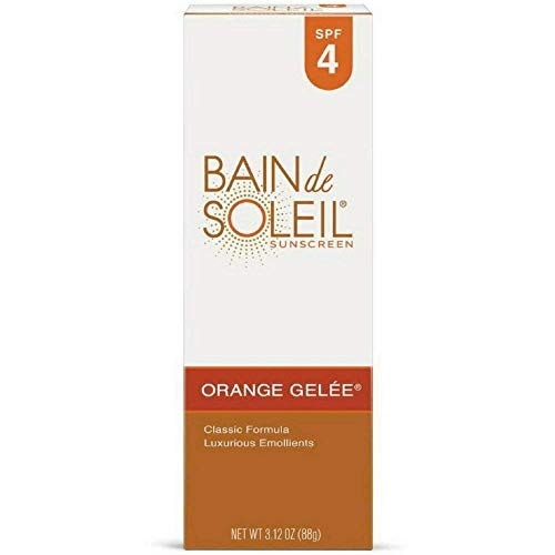 Bain de Soleil Orange Gelee Sunscreen, Tanning Lotion