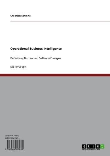 Operational Business Intelligence: Definition, Nutzen und Softwarelösungen
