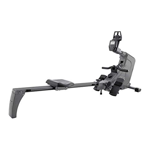 Kettler Rower 2.0 - Vogatore da 4 kg di massa volano 8 livelli di resistenza, display LCD, salvaspazio, alimentazione: batterie