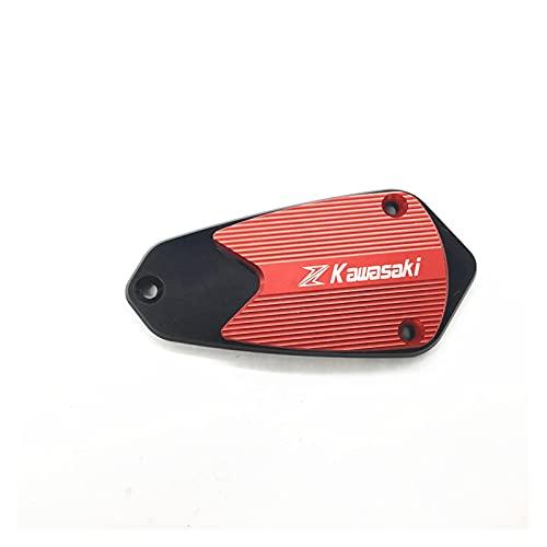 HDDTW Tapas De Gasolina Decorativas Más Calientes para Kawasaki Z1000 Serie 2010-2016 CNC Motocicleta Piezas Tapa De Depósito De Freno Delantero Tapa De Cilindro De Fluido (Color : Rojo)