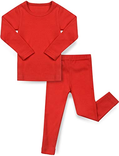 (33% OFF Deal) Red Cotton Baby Pajamas PJs $12.79