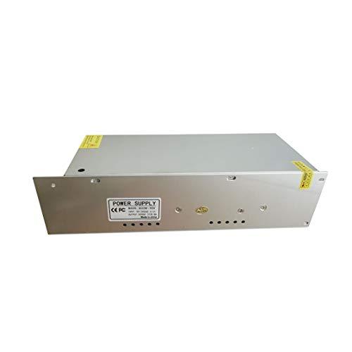 LouiseEvel215 Fuente de alimentación de CC de Salida Fija y Fuente estabilizada por Voltaje Regulador de Interruptor Universal Fuente de alimentación de Interruptor Universal