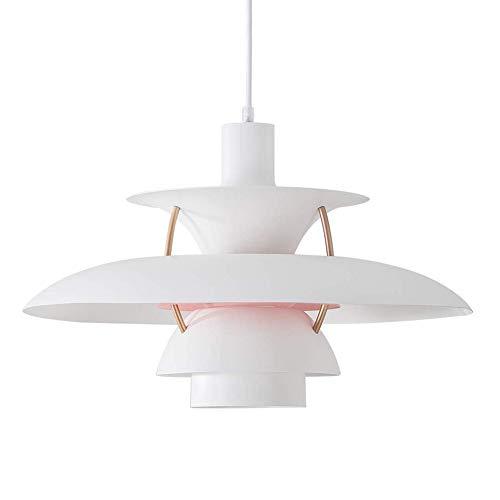 SXFuture PH5 Pendelleuchte, E27 Nordic Minimalist Kronleuchter, Hängeleuchte Für Esszimmer Wohnzimmer Küche Restaurant,40CM