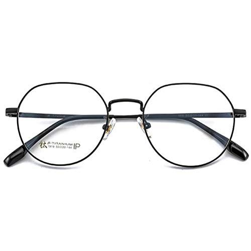 Wtbew-u Ultraleichte Reines Titan Brillengestell Nicht Verschreibungspflichtige Brillen - Klare Linse Gläser Brillen