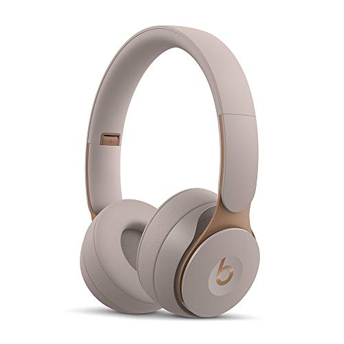 Beats Solo Pro Kabellose Bluetooth On-Ear Kopfhörer mit Noise-Cancelling – Apple H1 Chip, Bluetooth der Klasse 1, aktives Noise-Cancelling, Transparenzmodus, 22 Stunden Wiedergabe – Grau
