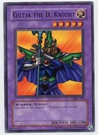 Yu-Gi-Oh! - Giltia The D. Knight (MRD-094) - Metal Raiders - Unlimited Edition - Common