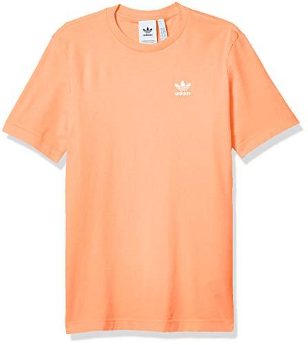 adidas Originals mens Trefoil Essentials Tee Chalk Coral XX-Large