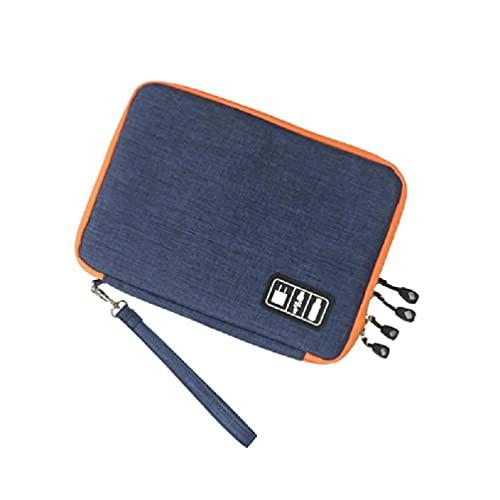 unkonw Bolsa de almacenamiento protectora para cargador Cable IPad Travel Bolsa de almacenamiento portátil
