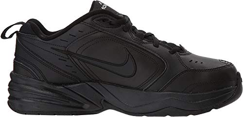 Nike Men's Air Monarch IV Cross Trainer, Black/Black, 11 4E US