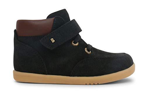 Bobux I-Walk Timber Boot_Caminantes – Uno Stivale in Pelle segata, Fodera in Pelle, Suola Flessibile e Resistente Nero Size: 23 EU