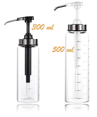 REGU-LED Dispensador de Miel 500mL, Original Jarra Miel. Dosificador de