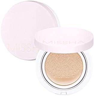 [Missha] M Magic Cushion Cover Lasting No.21 - Wrinkle Care+Brightening+UV Blocking SPF50- Cover Lasting Magic Cushion for...