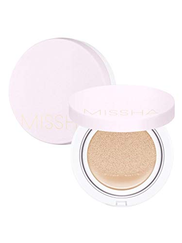 Missha Magic Cushion Cover Lasting Foundation SPF50+/PA+++, 21 Light Beige 15 g, 8809581449282