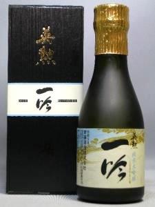 京都 日本酒 斎藤酒造 英勲 一吟 純米大吟醸 180ml 6本セット