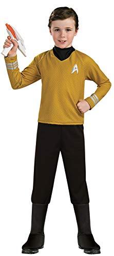 Capatin Kirk Kostüm für Kinder (Größe M)