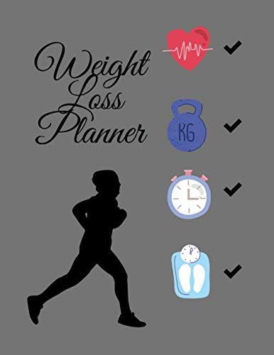 Weight loss planner: Funny Weight Loss Planner/log - Designed By Professionals - Define Your weight loss Goals - Track Your Progress - Achieve Results - 110 Days of weight loss Tracking