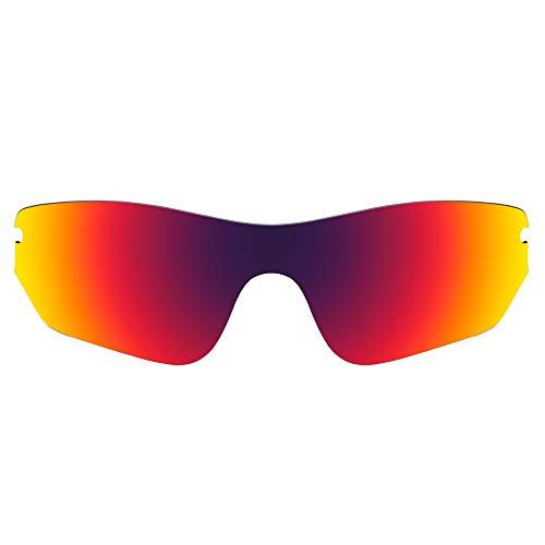 Revant Lentes de Repuesto Compatibles con Gafas de Sol Oakley Radar Edge, Polarizados, Sol de Medianoche MirrorShield