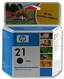 HP 21 C9351AE pack de 1, cartouche d'encre d'origine, imprimantes HP DeskJet, noir