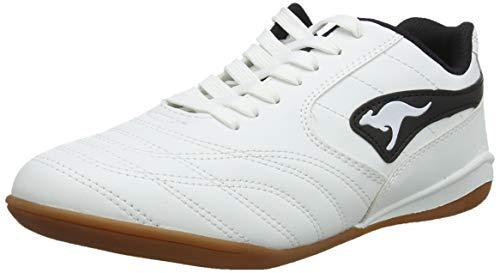 KangaROOS Herren K-Yard 3021 B Sneaker, White/Black 0005, 47 EU