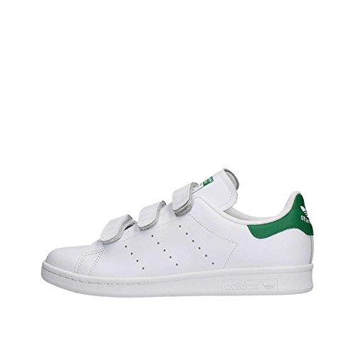 adidas Stan Smith Cf - Zapatillas de running Hombre, Blanco (Ftwr White), EU 44 (UK 9.5)