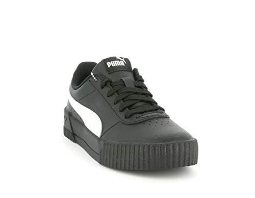Puma Carina L, Zapatillas para Mujer, Negro Blanco, 36 EU