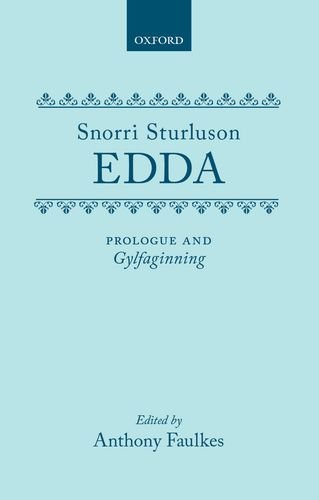 Edda: Prologue and Gylfaginning: Tales from Norse Mythology