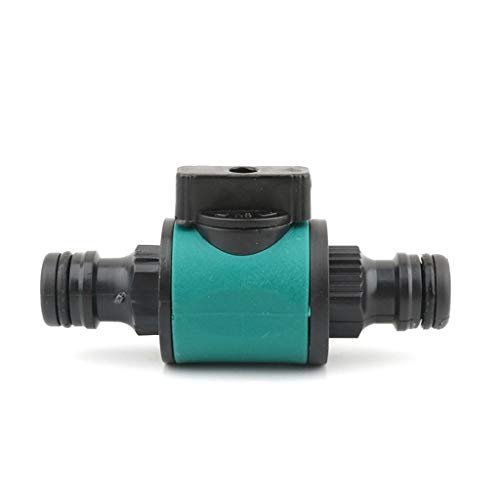 FIDALIKA Conector Rápido De 1/2 Pulgada A 16 Mm con Válvula, para Irrigación De Jardín Acoplamientos Rápidos De Riego De Jardín. (Color : 1)