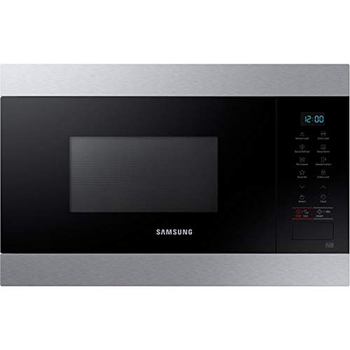 Micro ondes Encastrable Samsung MS22M8074AT - Micro-Ondes Intégrable Inox - 22 litres - 850 Watts