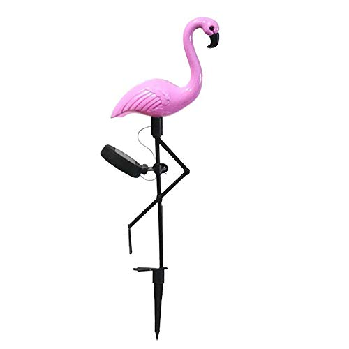 Led Flamingo impermeable solar césped luz al aire libre jardín decoración luz jardín piso paisaje luces