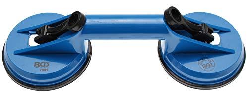 BGS 7991 | Gummi-Doppelsauger | ABS | Ø 120 mm | 325 mm | Gummisauger | Saugheber | Saugnapf
