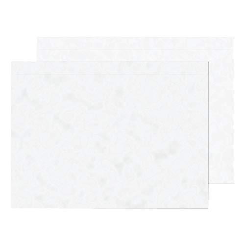Purely PDE40 - Sobres portadocumentos adhesivos (1000 unidades, plástico, A5, 235 x 175 mm), transparente