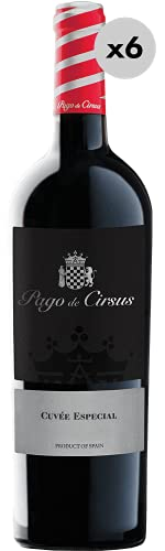 Pago de Cirsus Cuvée Especial, Vino Tinto, 6 Botellas, 75 cl