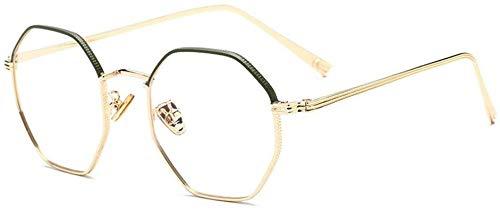 Unisex superlicht gepolariseerde zonnebrillen, The Big Blue glazen montuur metalen vlakke glazen bril voor mannen en vrouwen mannen en vrouwen mannen en vrouwen Lue Shading glazen, anti-glans vermoeidheid, koop