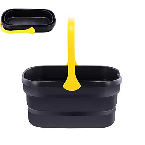 Cleanhome バケツ 折りたたみ ソフトバケツ 釣り用バケツ 生活用品 掃除 洗濯 アウトドア 車載バケツ 洗い持ち運び 多機能 収納便利 (10L)