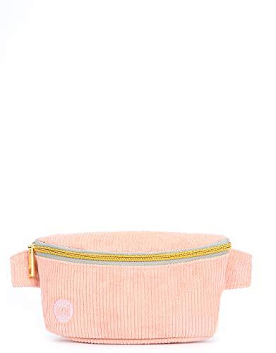 Mi-Pac Mi-Pac Bum Bag Corduroy Riñonera de Marcha, 22 cm, Rosa (Blush)
