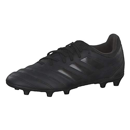 adidas Copa 20.3 (FG) Football Shoe, Core Black/Core Black/Solid Grey, 32 EU