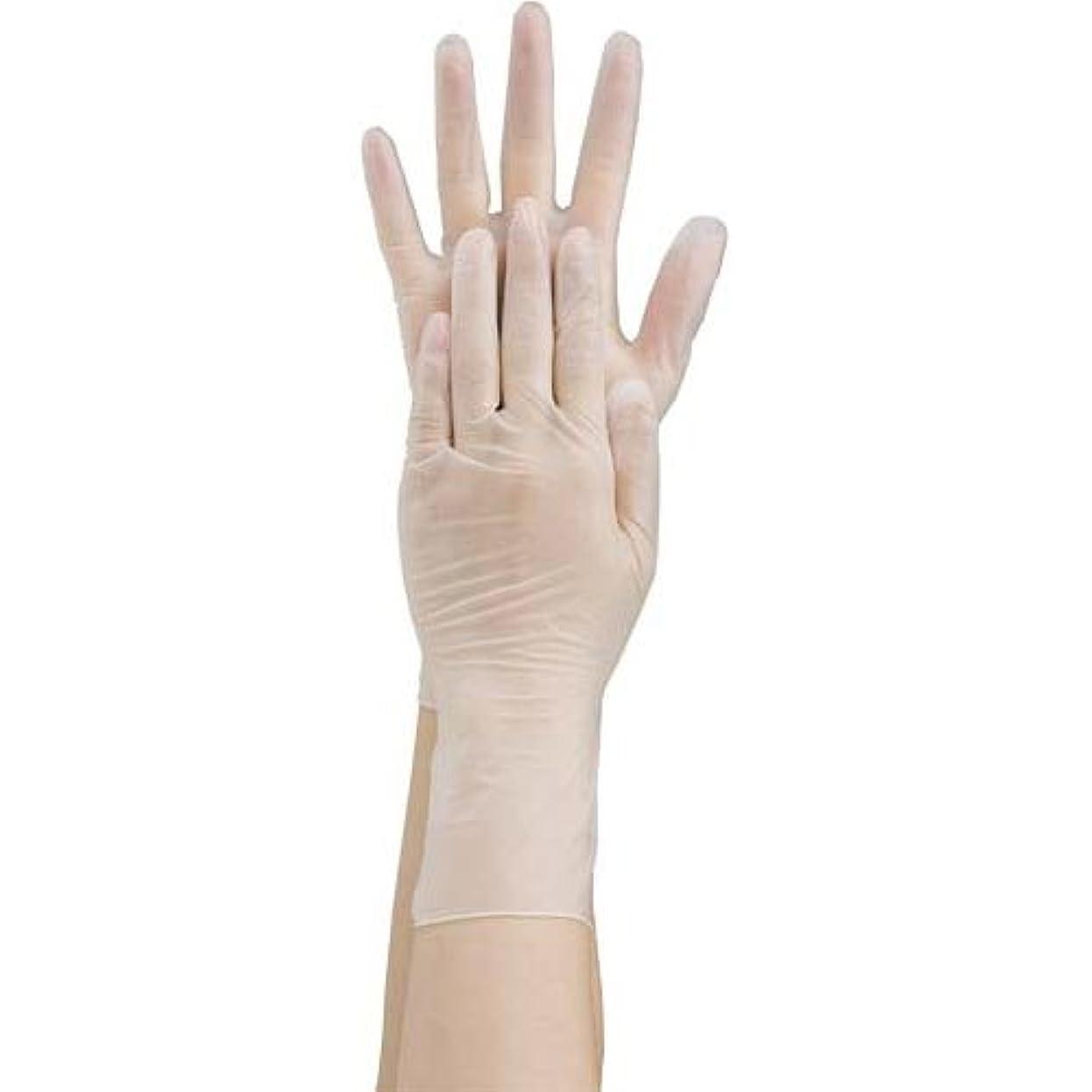けん引旋回ラフ共和 プラスチック手袋 粉無 No.2500 S 10箱
