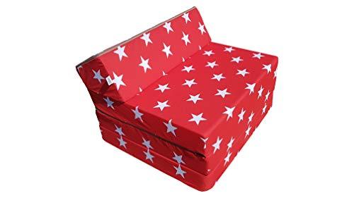 Natalia Spzoo Colchón plegable, cama de invitados, colchón de espuma 200x70 cm (007)