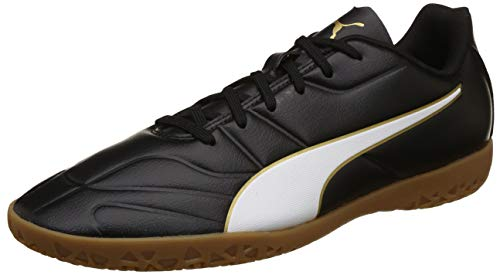 Puma Herren Classico C II IT Multisport Indoor Schuhe, Schwarz Black White-Gold, 45 EU