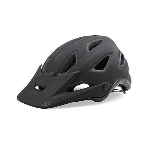 Giro Montaro MIPS Adult Mountain Cycling Helmet - Small (51-55 cm), Matte Black/Gloss Black (2020)