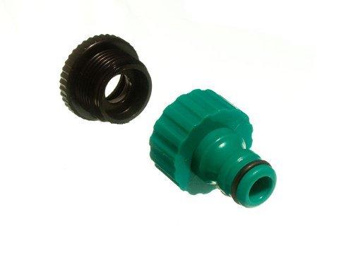 Quick Fix Encliquetable Garden Tap Pour raccord de tuyau avec réducteur Pack Of 4