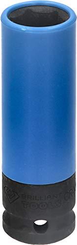 """BRILLIANT TOOLS BT691006 KS Tools Vaso para Llantas de Aluminio (1/2"""", Ancho de Llave de 17 mm)"""
