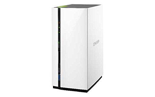 Qnap TS-228 1.1GHz 2-Bay NAS Server Bundle mit 1x 3TB ST3000VN007