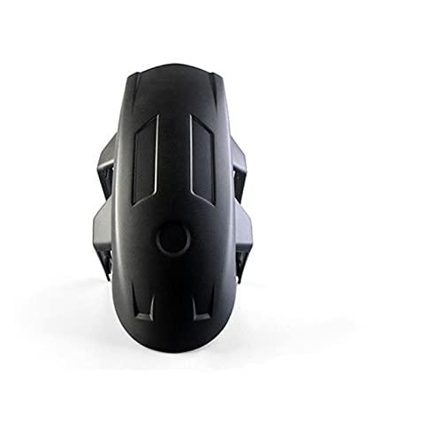Guardabarros para Moto Universal Plástico Trasero De Motocicleta para Guardabarros Protector contra Salpicaduras Cubierta De Rueda Trasera Guardabarros con Soporte