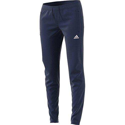 adidas Damen Tiro 17 Trainings Hose, Dkblue/White, L