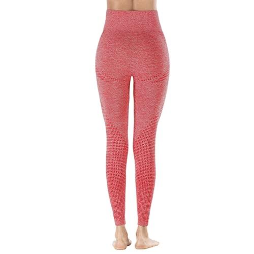 QTJY Pantalones de Yoga elásticos de Secado rápido para Mujer, Mallas Sexis para Levantar la Cadera, Pantalones Deportivos de Cintura Alta para Correr al Aire Libre, BL