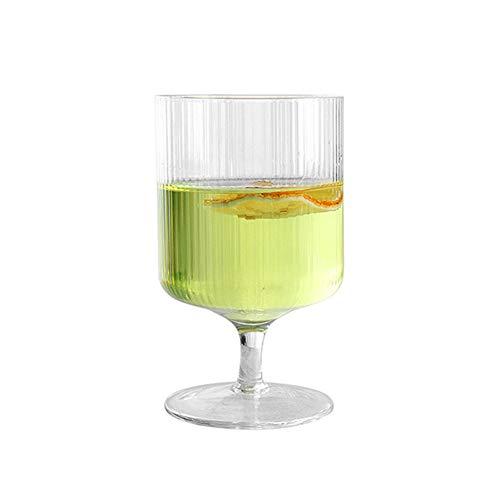 WxberG Copas de champán, Martini y copas de champán para el hogar, la boda y la fiesta de Año Nuevo – Copa de cóctel estilo vintage – 10 oz (color: tipo 2)