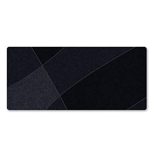 NASHUBIA persoonlijkheid senior zwart onregelmatige muismat super bestseller hoge kwaliteit rubber brede vergrendeling Edge Notebook Pad