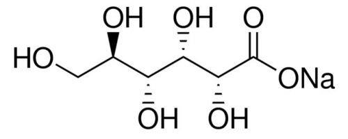 S3 Chemicals Natriumgluconat (min. 99%, USP, FCC, Lebensmittelqualität) Gebindegröße 250g