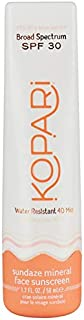 Kopari Sundaze Mineral Face Sunscreen Lotion SPF 30 | Fragrance Free Zinc Oxide Mineral-Based Daily Sunscreen with Hyaluronic Acid and Coconut Water